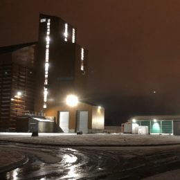 silo de stockage de céréales
